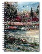 Birch Lake Spiral Notebook