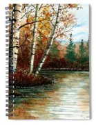 Birch Pond Spiral Notebook