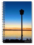 Birdhouse With A View Spiral Notebook