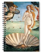 Birth Of Venus Spiral Notebook