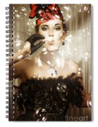 Birthday Celebration Spiral Notebook