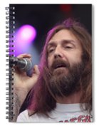 Black Crowes - Chris Robinson Spiral Notebook