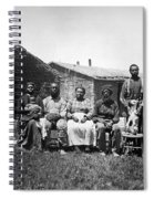 Black Homesteaders Spiral Notebook