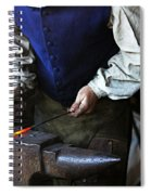 Blacksmith At The Old Fort Spiral Notebook