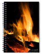 Blazing Campfire Spiral Notebook