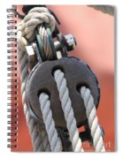 Block And Tackle Spiral Notebook