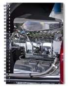 Blown Spiral Notebook