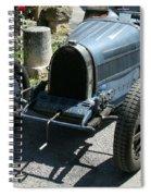 Blue Bugatti Oldtimer Spiral Notebook