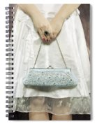 Blue Handbag Spiral Notebook