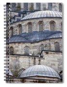 Blue Mosque 01 Spiral Notebook