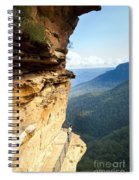 Blue Mountains Walkway Spiral Notebook
