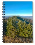 Blue Ridge Mountains North Carolina Spiral Notebook