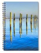 Blue Tide Spiral Notebook