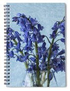 Bluebells 1 Spiral Notebook