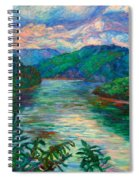 Bluestone Lake Spiral Notebook