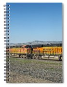 Bnsf 7199 Consist Spiral Notebook