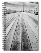 Boardwalk Of Distance Spiral Notebook