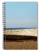 Boat On Shore 02 Spiral Notebook