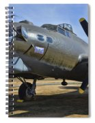 Boeing B-17g Flying Fortress Spiral Notebook