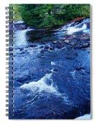 Bog River Falls Spiral Notebook