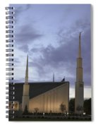 Boise - Mormon Temple Spiral Notebook