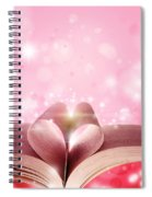 Book Love Spiral Notebook