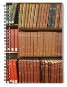 Bookshelves Spiral Notebook