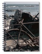 Bornholm Bicycle  Spiral Notebook