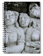 Borobudur  Spiral Notebook