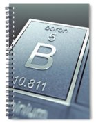 Boron Chemical Element Spiral Notebook