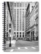 Boston Downtown Spiral Notebook