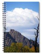 Boulder Flatirons 1 Spiral Notebook