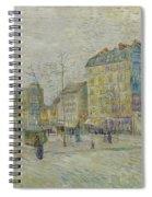 Boulevard De Clichy Spiral Notebook