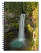 Brandywine Falls British Columbia Spiral Notebook
