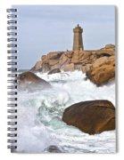 Breaking Of Waves Spiral Notebook