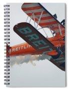 Breitling Wing Walkers Spiral Notebook