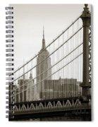 Bridge From The Bridge Spiral Notebook