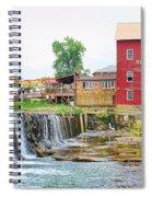 Bridgeton Mill And Covered Bridge Spiral Notebook