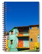 Bright Colors In Buenos Aires Spiral Notebook