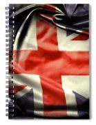 British Flag 10  Spiral Notebook