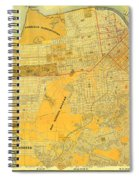 Britton And Reys Guide Map Of The City Of San Francisco. 1887. Spiral Notebook