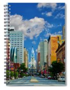 Broad Street - Avenue Of The Arts Spiral Notebook