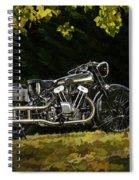 Brough Superior Ss 100 Spiral Notebook