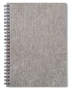Brown Material Spiral Notebook
