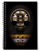 Bruins Jersey Mask Spiral Notebook
