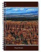 Bryce Canyon II Spiral Notebook
