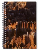Bryce Canyon National Park Hoodo Monoliths Sunrise Southern Utah Spiral Notebook