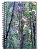Bubble Trees Spiral Notebook