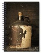 Buddy Bear's Little Brown Jug Spiral Notebook