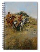 Buffalo Hunt Spiral Notebook